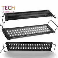 Aquarium lid LED light fish tank aquatic plants lamp USA BeamsWork LED400 80cm 78LED 100 240V marine aquarium lighting