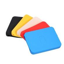 """2,5 дюймов силиконовый чехол Сумки HDD чехол жесткий диск Обложка протектор кожи ультра мягкий 2,"""" HDD Чехол Для Seagate для Toshiba для WD"""