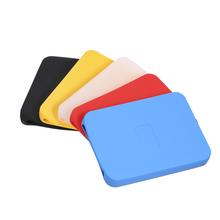 2 5 cal silikonowe etui torby HDD przypadku dysk twardy pokrywa Protector skóry Ultra miękkie 2 5 dysk twardy dla Seagate dla toshiba dla WD tanie tanio KKMOON C5370