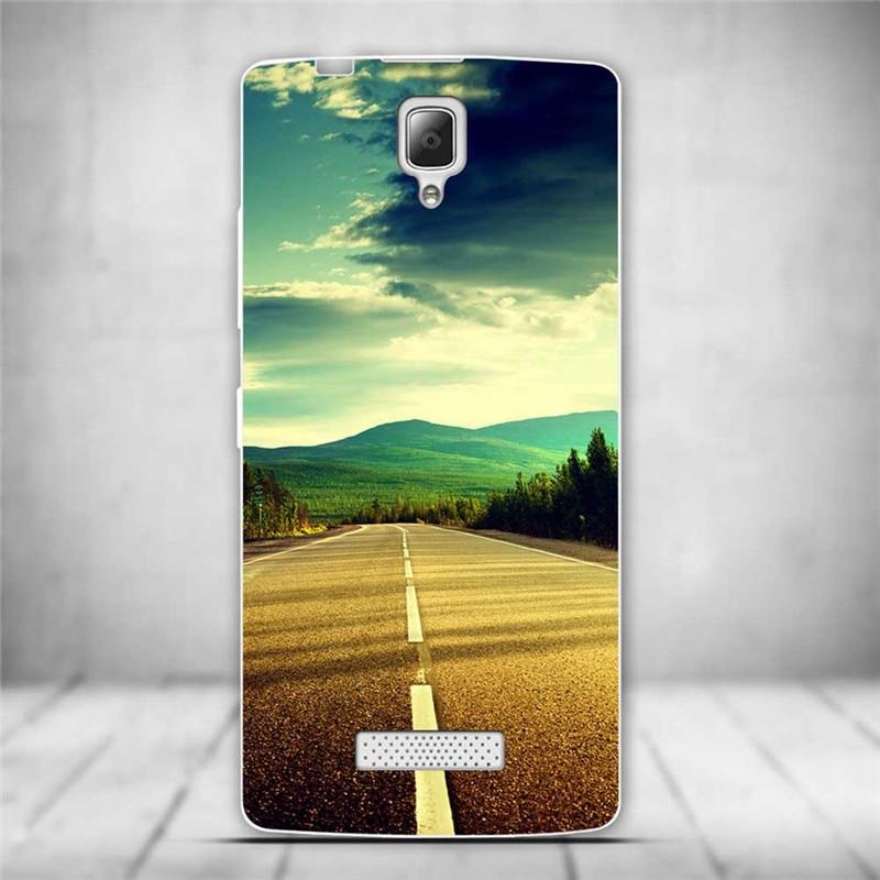 Luksusowe tylna pokrywa miękki tpu case dla lenovo a2010 a 2010 szczupła cienkie silikonowe etui na telefony dla lenovo a2010-a/a 2010 powrót skóry 21