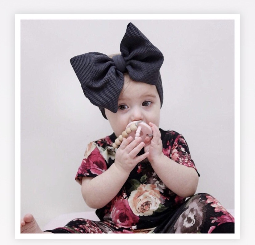 Newborn Baby Girl Headband Hairband Baby Girl Headbands Bandeau Bebe FilleToddler Fabric Bow Knot Headwraps Turban   Headwear
