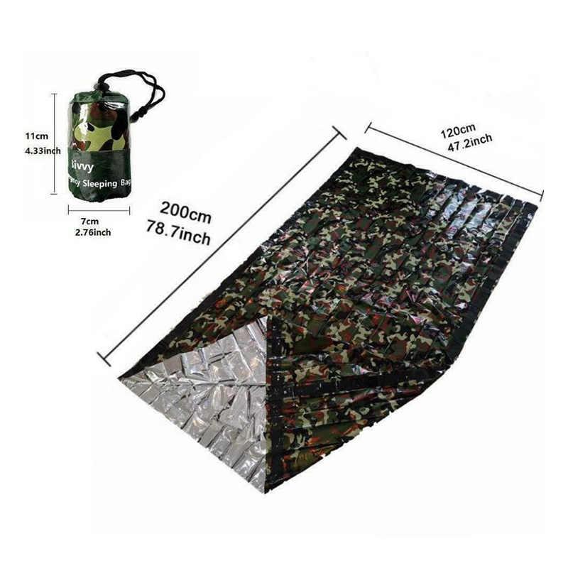 屋外キャンプ寝袋屋外緊急寝袋保存袋高品質のキャンプ旅行ハイキング袋