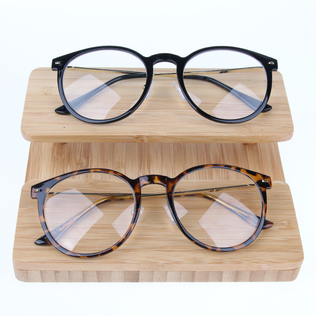 Retro Wood Sunglasses Display Rack Eyeglasses Stand Holder for Stores Glasses Show and Storage