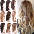 Real Premium Long Black Blonde Brown Sexy Curly Wavy Full Head Wigs Cosplay Party Anime Synthetic Hair Wig Cheap