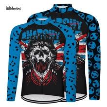 Ciclismo Jersey bike ropa MTB hombres manga larga pro equipo Bicicletas desgaste invierno ciclismo
