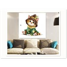 Cute Cartoon Cat 5D Diamond Painting Full Resin DIY Embroidery Stitch Home Decoration Maison