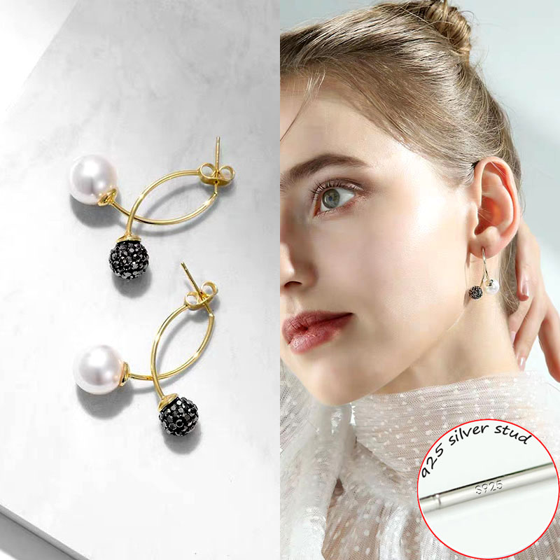 Jewelry & Accessories Earrings 2019 New 8 Colors Cute Crystal Earrings For Women Blue Red Fashion White Green Plant Charm Jewelry Gift