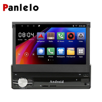 Panlelo 1 din Android Single Din Car Stereo 1G+16G / 2G+16G 7 HD Touch Screen Android 6.0 GPS Navigation Car Multimedia Player