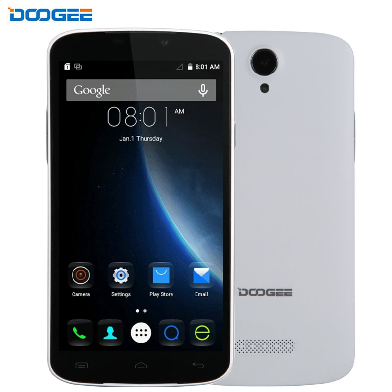 Цена за 3 г doogee x6 1 ГБ + 8 ГБ 5.5 дюймов android 6.0 mtk6580 quad core 1.3 ГГц WiFi BT GPS OTA Сотовые Телефоны 3000 мАч батарея 5MP g сенсор