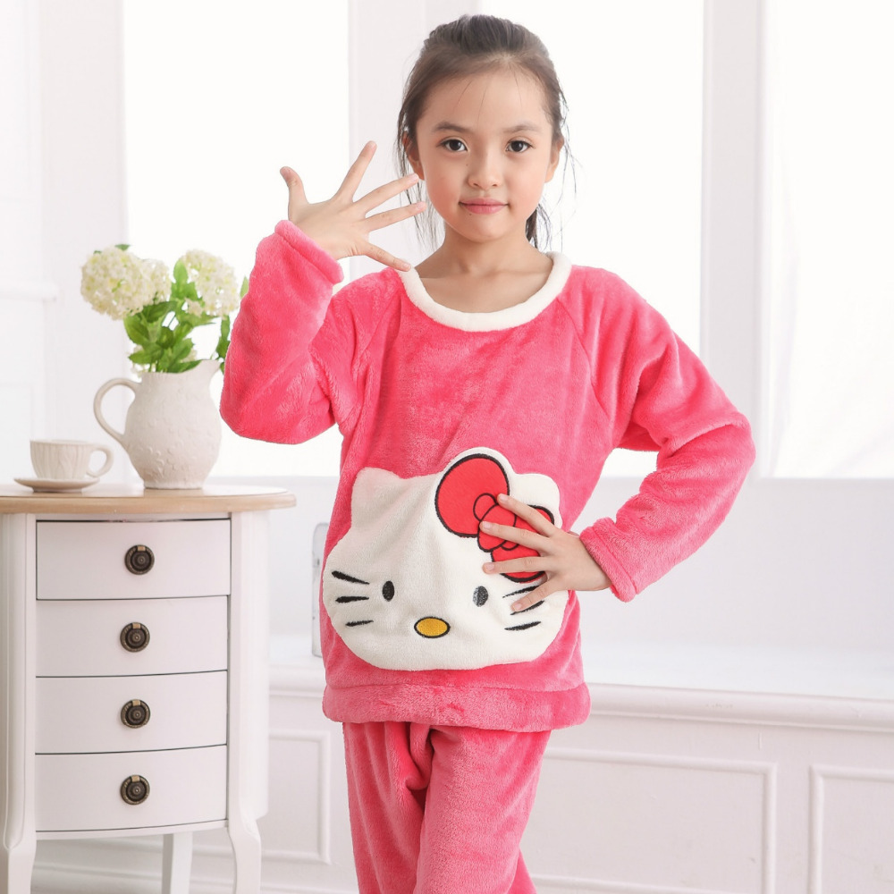 Popular Girls Winter Pajamas-Buy Cheap Girls Winter Pajamas lots ...