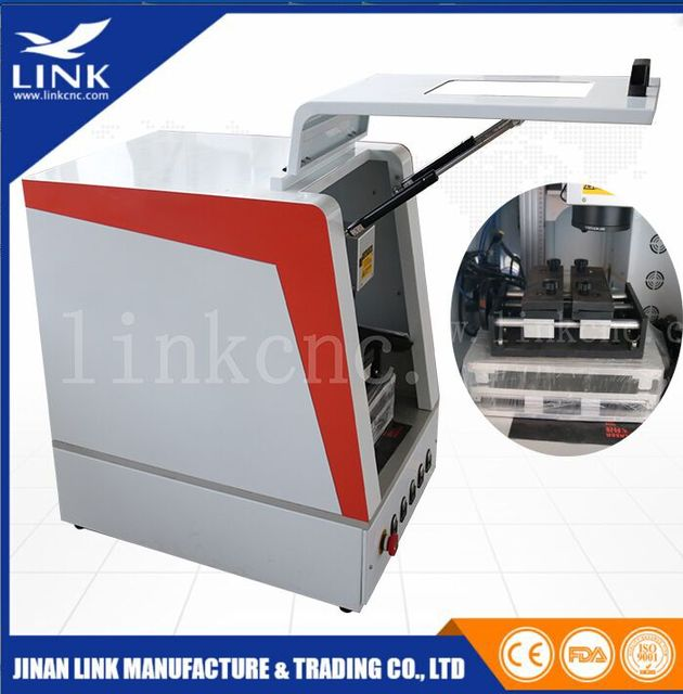 memory card making machine for metalnon metal laser marking20w fiber laser - Card Making Machine