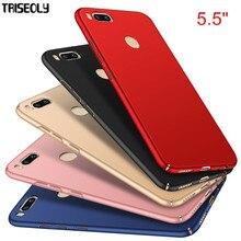 """Triseoly для Xiaomi mi A1 чехол 5,"""" простой роскошный высококачественный Жесткий ПК чехол для Xiaomi mi A1 5x mi 5x"""