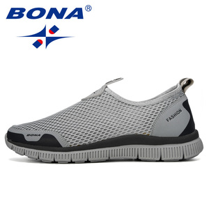 Image 4 - 善意メンズ通気性カジュアルシューズkrasovkiモカシンバスケットオム快適なスニーカーの靴chaussuresはオムを注ぐメッシュ靴