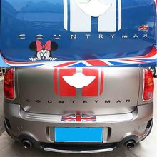 цена на High Quality Car Tail Metal 3D Letters Sticker And Emblem Rear Trunk For MINI Cooper Countryman R60 F60 Car Styling Accessories