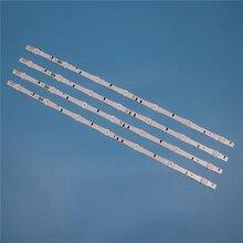 7 مصابيح LED الخلفية قطاع لسامسونج UE32H6640SS UE32H6740SB UE32H6800SB UE32J5000AK UE32J5120AK الحانات عدة التلفزيون LED الفرقة