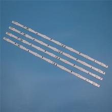 7 lâmpadas led backlight strip para samsung ue32h6640ss ue32h6740sb ue32h6800sb ue32j5000ak ue32j5120ak barras kit televisão led banda