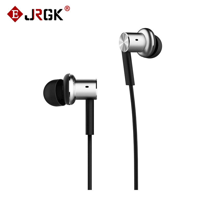 ФОТО Original Xiaomi Hybrid Earphone with Microphone In Ear Headset High Quality Mi Earphones for Xiaomi Redmi Mi Mix Huawei MP3 PC