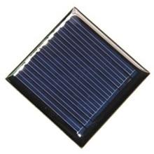 Solar panel 0.25W 5V solar panel drop glue board DIY solar panels Polycrystalline silicon board 45 * 45mm colour black