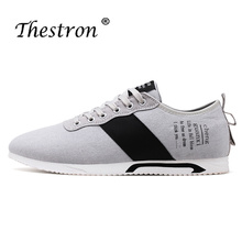 New Arrival Mens Casual Shoes  Best Selling Lace Up Canvas Non Slip Rubber Sole Comfortable Classic for Men
