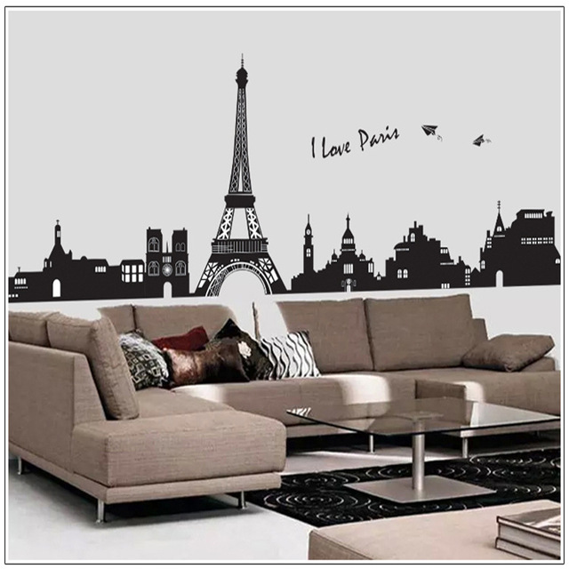 aliexpress : buy removable wall stickers bedroom backdrop