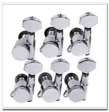 1 set 6L Locking Tuning Pegs Tuners Machine Heads for Replacement