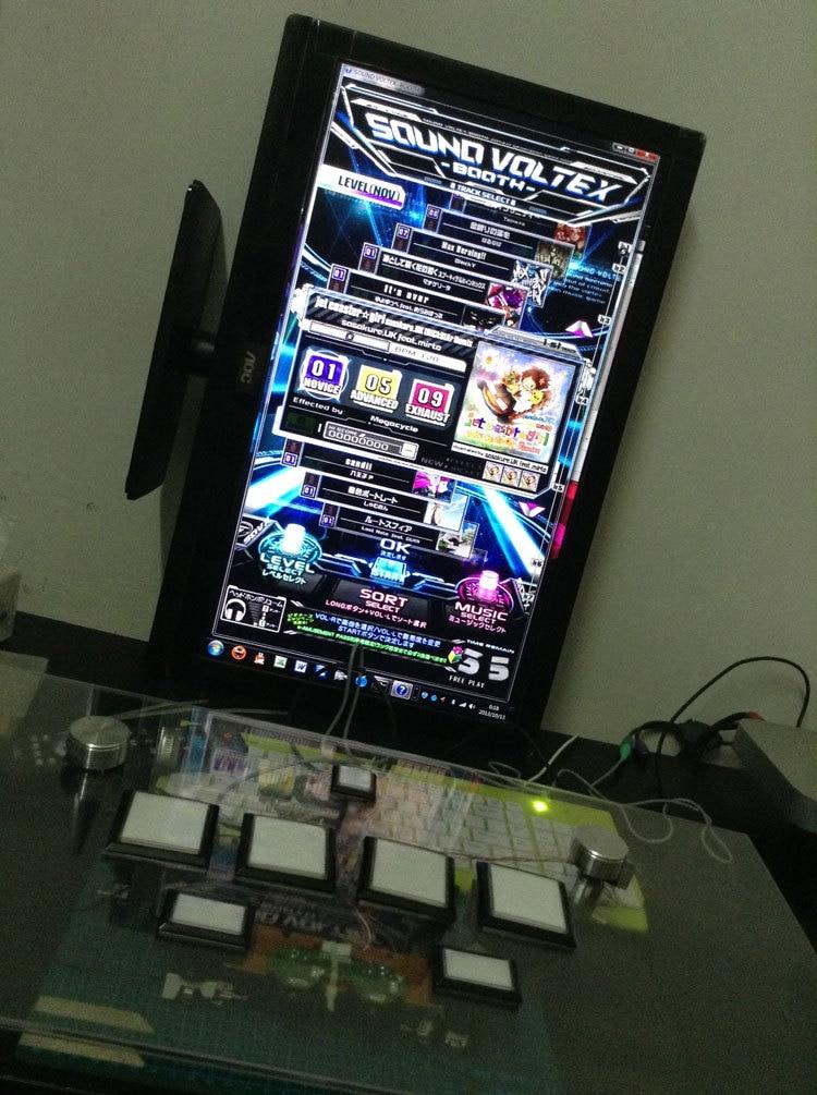 SOUND VOLTEX SDVX computer console-in Joysticks from
