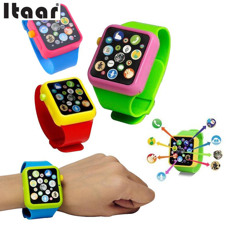 3D Touch Smart Watch Early Learning Screen Music Baby Kids Children Toy
