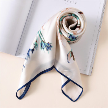 Silk scarf women 70*70cm New Print  fashion scarves small squares Head scarf women shawl Bag Spring decorative scarves