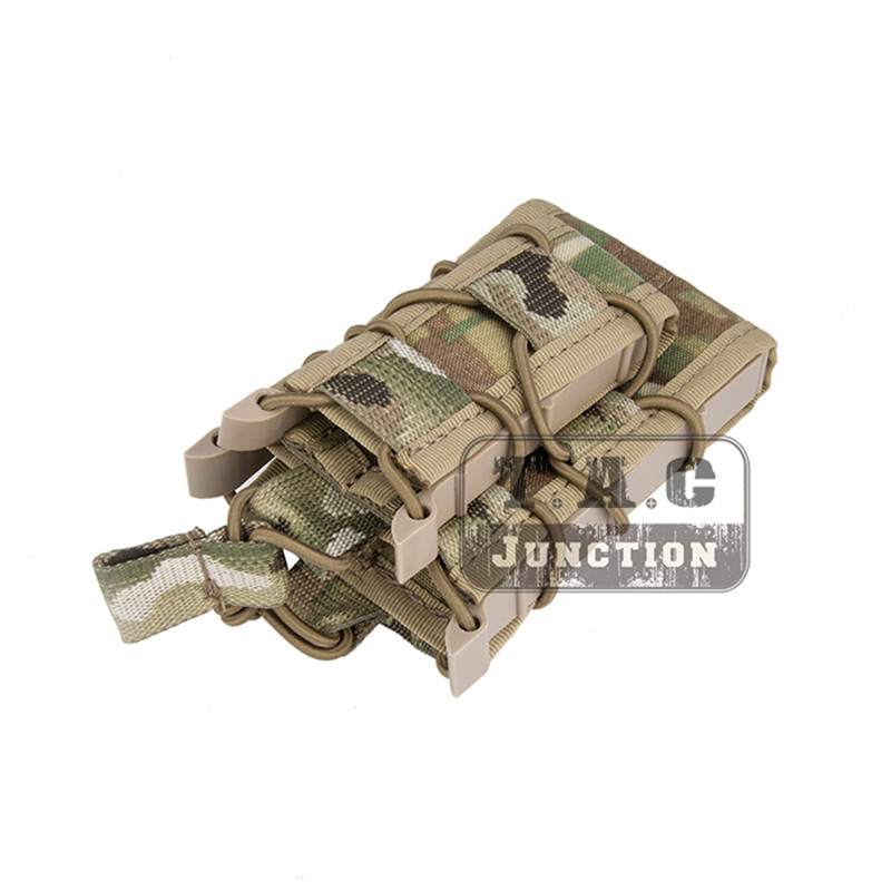 Image 4 - Emerson Double Layer Modular Magazine Pouch For 5.56 .223 & 9mm Emersongear MOLLE Mag Pouch Mag Carrier Camouflage Military-in Pouches from Sports & Entertainment