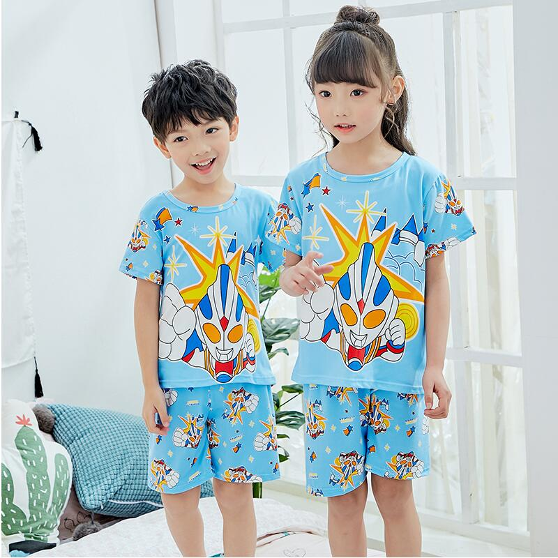 Girls Boys Pyjamas Pjs Sleepwear Short Summer Sleepwear Gift