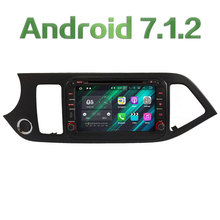 3G 4G WIFI 8″ Android 7.1.2 2GB RAM DAB+ SWC Car DVD Player Radio Stereo For Kia Morning Picanto 2011 2012 2013 2014 2015 2016