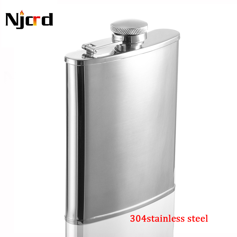 1pcs good 6oz wine flask stainless steel for wine portable wine hip flask matraz flagon as bar accessary gift for men