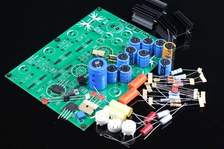 купить GZLOZONE V18 RIAA MM Tube phono stage amplifier kit base on EAR834 amp (no tubes) L3-33 по цене 3671.87 рублей