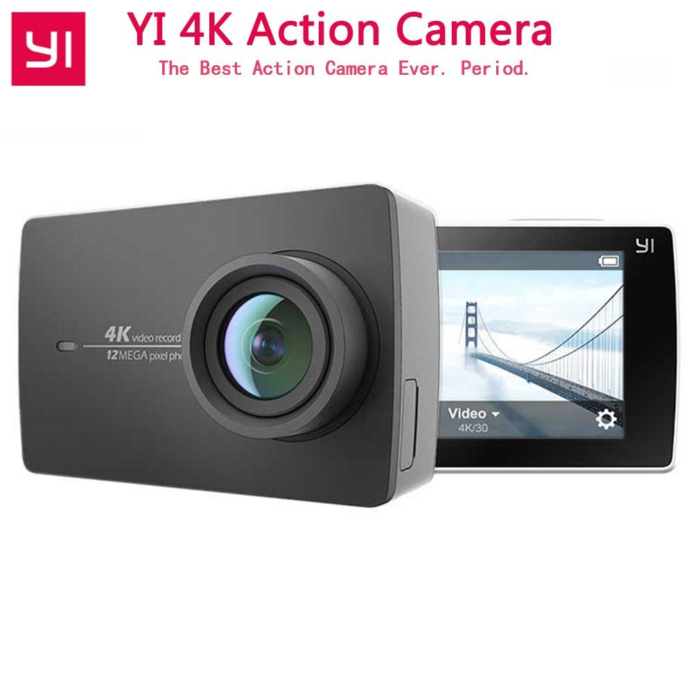 YI 4K Action Camera For Xiaomi YI Sport Camera Ambarella A9SE ARM 12MP CMOS 2 19