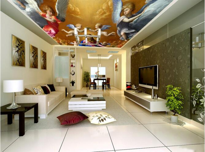 3d room wallpaper custom mural non-woven 3d room wallpaper Christian angel wings ceiling murals photo 3d wall murals wallpaper wallpaper 3d murals planet space mural photo