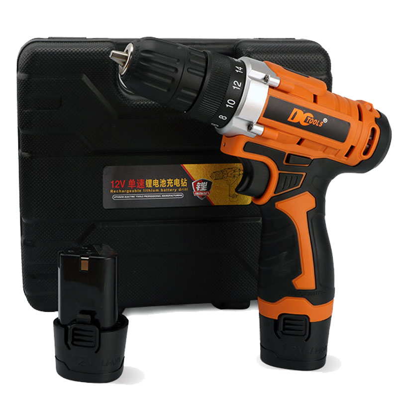 12V Power Tools DC Household DIY Woodworking Lithium-Ion Battery Cordless Drill Driver Electric Drill Power Drill DN180 цена