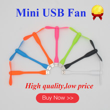 Kipas Angin Mini Usb Portable Fan Cooler Kipas Angin Kecil Fleksibel USB Power Bank Komputer Notebook Laptop Hemat Daya Penggemar kualitas Baik(China)