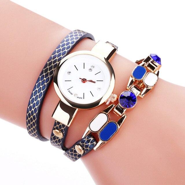 OTOKY Fashion 2018 New Bracelet Watches Women Leather Clock Luxury relogio femin