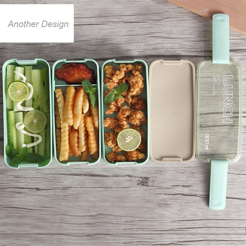 900ml japan style lunch box 3 layers bento box dinnerware sets seperate food container microwave. Black Bedroom Furniture Sets. Home Design Ideas