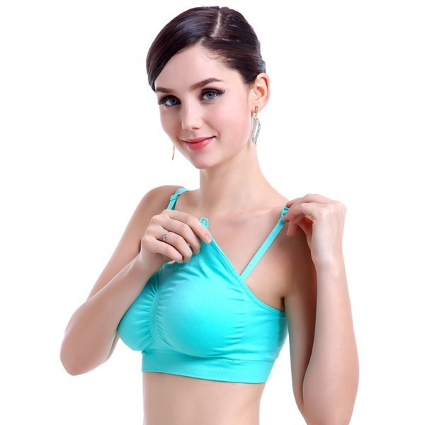 Fashion Feeding Nursing Pregnant Maternity Bra Women Breastfeeding Brassiere Top
