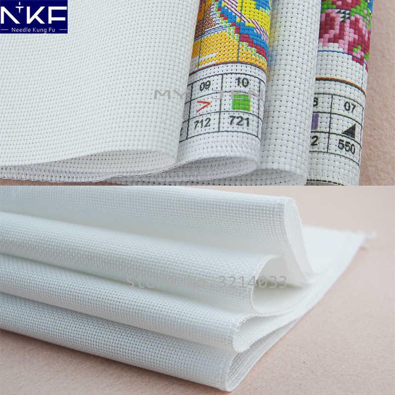 NKFกลิ่นหอมสดชื่นแบบจีนดอกไม้ภาพวาดนับหรือประทับ11CT 14CTปักครอสติเย็บปักถักร้อยชุดเย็บปักถักร้อย