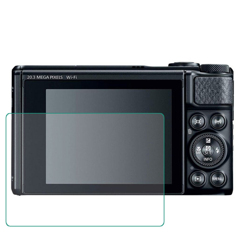 Tempered Glass Screen Protector For Canon Powershot SX730/SX740 HS Sx730hs Sx740hs Camera LCD Screen Protective Film Cover