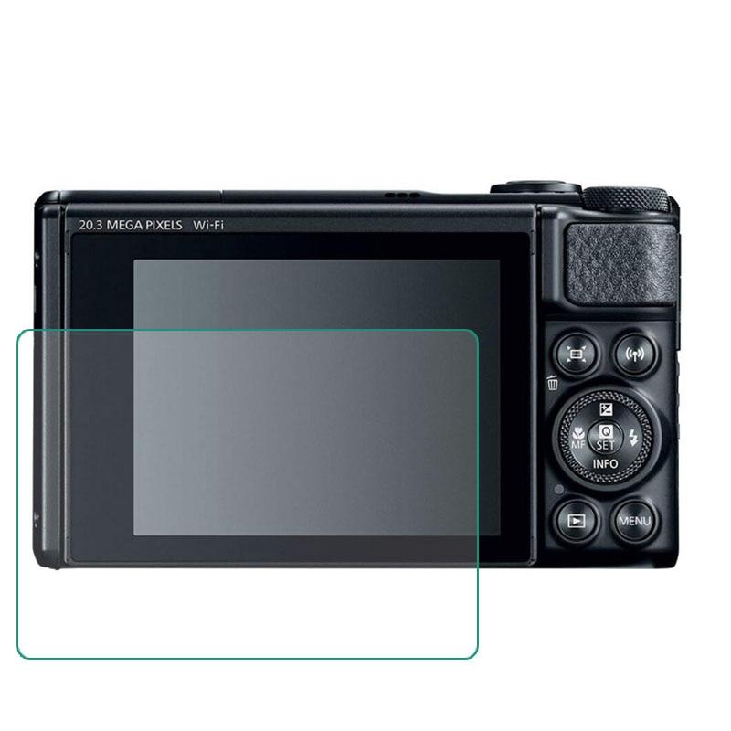 JJC 2PCS PET Film Screen Protector for Canon Powershot SX730 HS SX730HS SX740 HS SX740HS Digital Camera