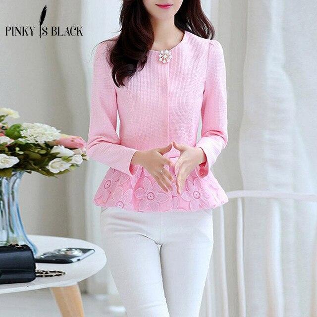 Pinky Is Black 2017 Spring Women Slim Blazer Coat Casual Jacket Long Sleeve Candy Color Women Suit Ladies Blazers Work Wear