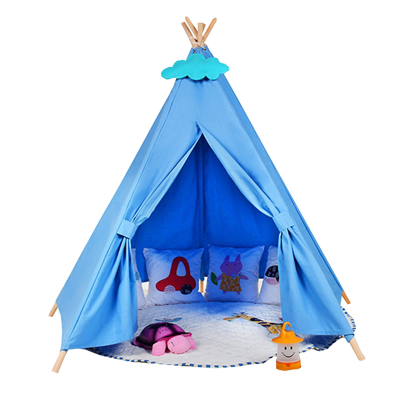 princess big kids teepee tents play tents playhouse for girl baby childrenu0027s playground / birthday gift-in Toy Tents from Toys u0026 Hobbies on Aliexpress.com ...  sc 1 st  AliExpress.com & princess big kids teepee tents play tents playhouse for girl baby ...
