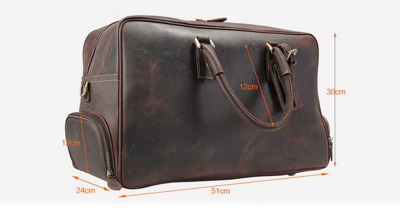 leather travel bags 1