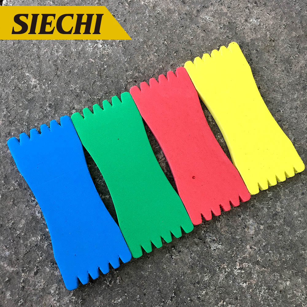 10Pcs/lot EVA Foam Fishing Line Plate Fishing Winding Line Board 8-17cm Carp Lure Trace Wire Leader Swivel Fishing Tackle