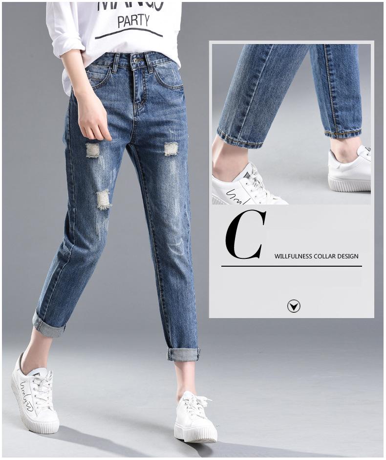 2019 nuevo suelta sonrisa puños pantalones Harem mujeres Vintage ... 8894a3802e18