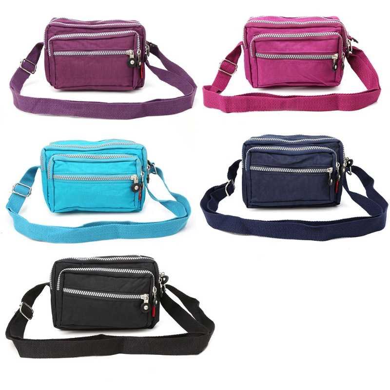 THINKTHENDO Women Nylon Handbag Lady Durable Shoulder Tote Purse Crossbody Messenger  Bags c04f677b42885