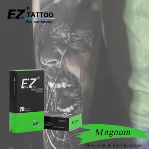 Image 5 - EZ Revolution Cartridge Tattoo Needles Magnum #12 0.35mm L taper 5.5mm for Rotary Tattoo Machines Pen and Grips 20 pcs /box